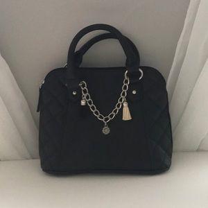Black hand and cross body bag